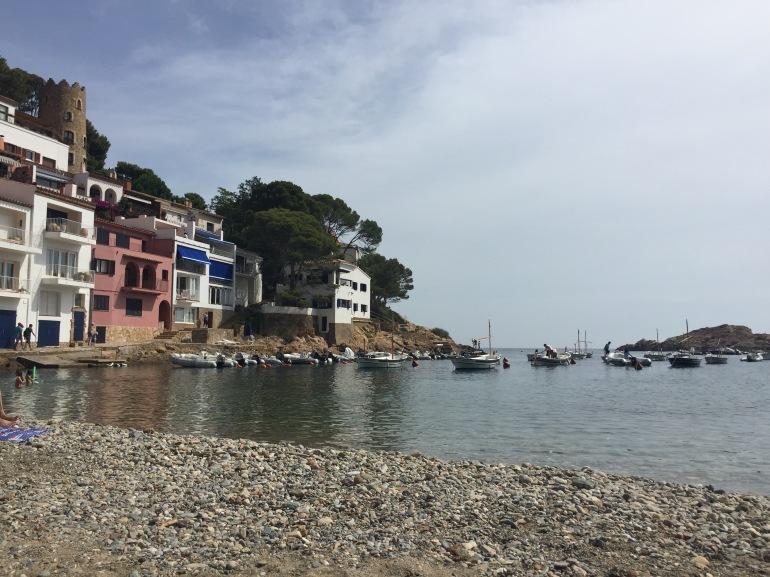 Sa Tuna beach