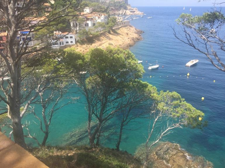 Sa Tuna view from above