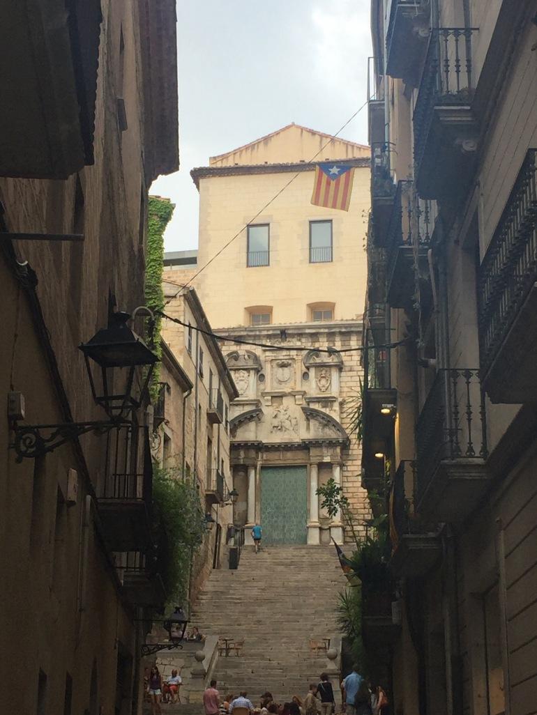 Steps in Girona