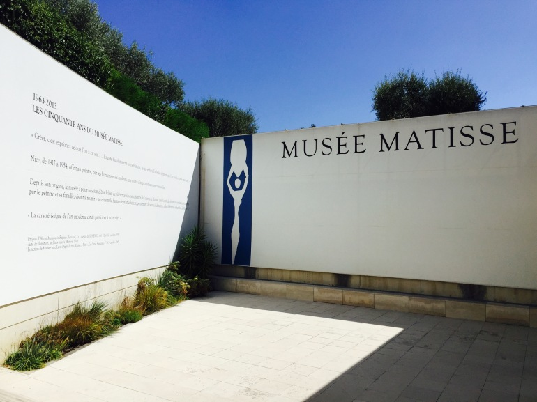 Musee Matisse outside