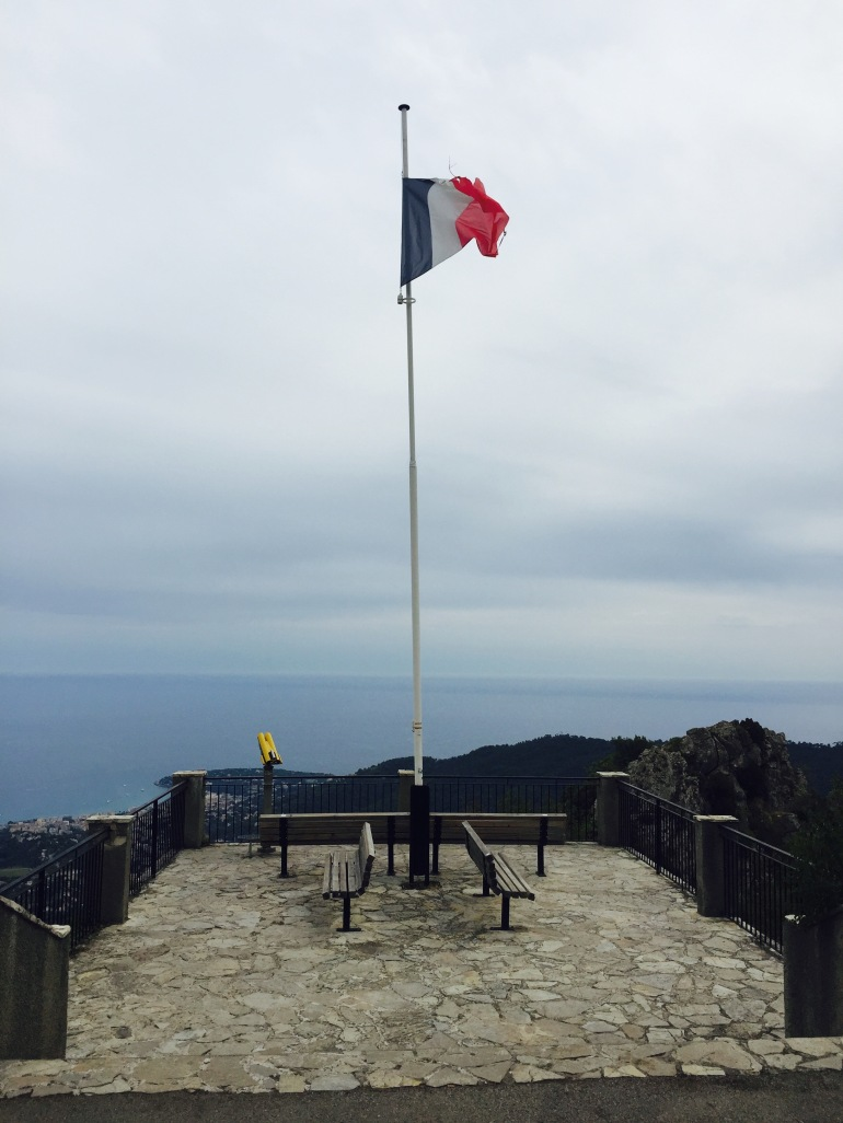 French flag Sainte-Agnes