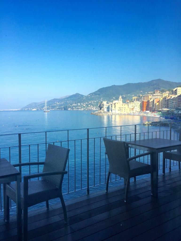 Cenobio breakfast terrace