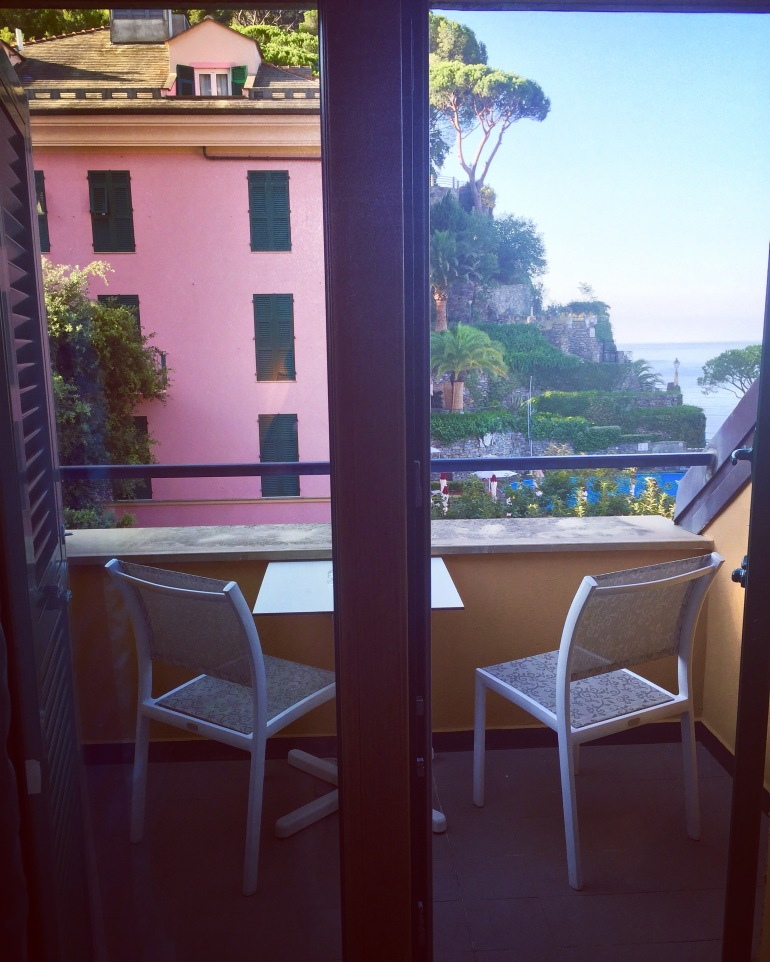Cenobio room patio