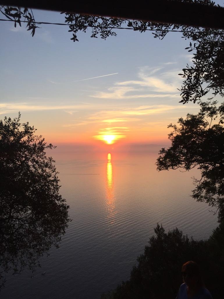 Sunset view from Bar Dai Muagetti